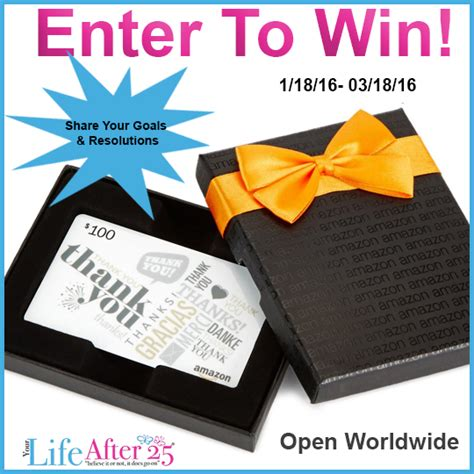 How To Find Amazon Giveaways - your life after 25 100 amazon gift card giveaway