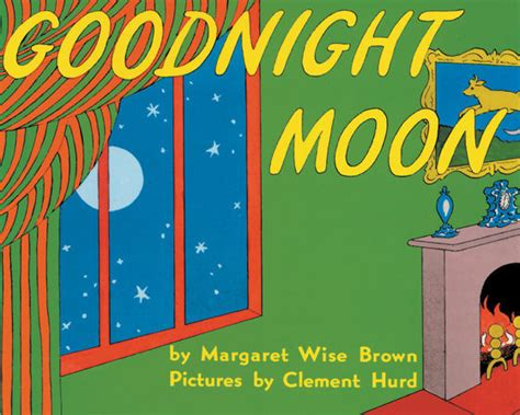 printable children s book covers vintage book cover print goodnight moon