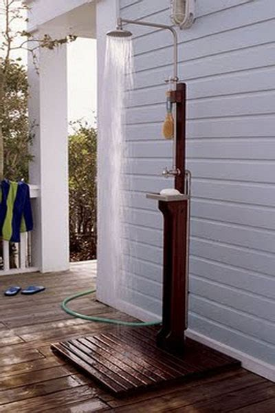 Out Door Showers 15 Outdoor Shower Designs Modern Backyard Ideas
