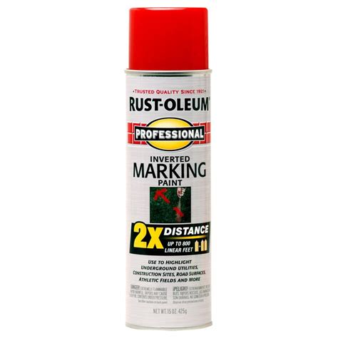 shop rust oleum professional 6 pack safety based marking paint actual net contents 15