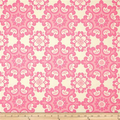 pink home decor fabric riley blake home d 233 cor ornate damask pink discount