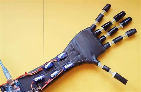 tutorial arduino robotic hand arduino blog
