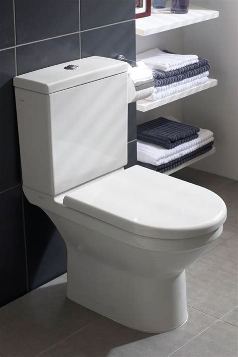 VitrA S50 Comfort Height Close Coupled Toilet With Seat