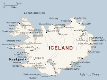 printable road map of iceland iceland guide national geographic