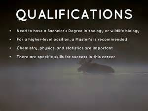 Requirements To Be A Zoologist zoologist and wildlife biologist by elsa doherty