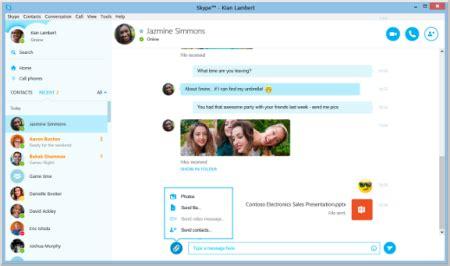 ver imagenes guardadas skype utilicen skype para enviar sus archivos de manera r 225 pida y