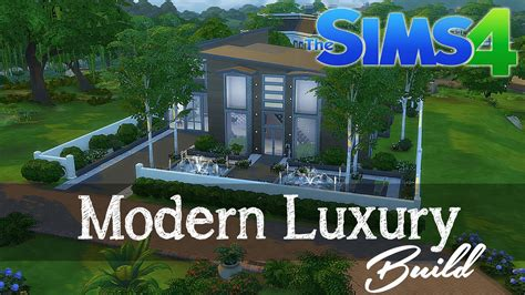 the sims house building modern abode speed build youtube idolza the sims 4 speed build modern luxury home build