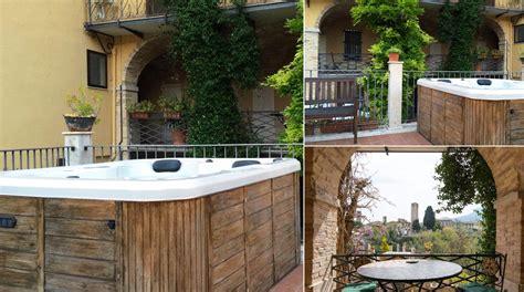 minipiscina da terrazzo minipiscina idromassaggio in terrazzo di