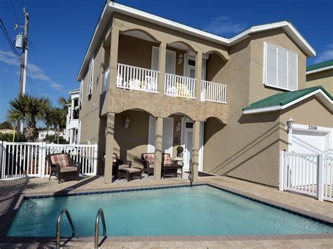 Luxury Beach Home Private Pool Spectacular Vrbo Panama City House Rentals With Pool