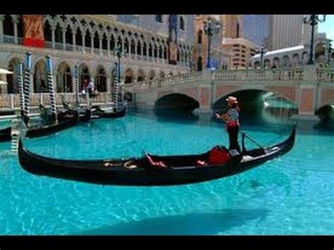 gondola boat vegas the venetian hotel gondola ride youtube