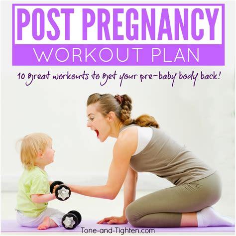 workout plan post pregnancy workout everydayentropy