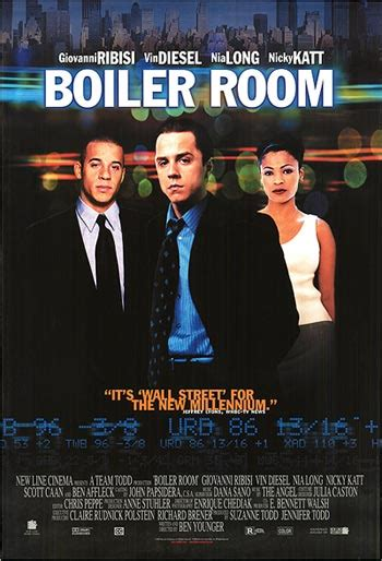 Boiler Room Cast by Boiler Room Posters At Poster Warehouse Movieposter