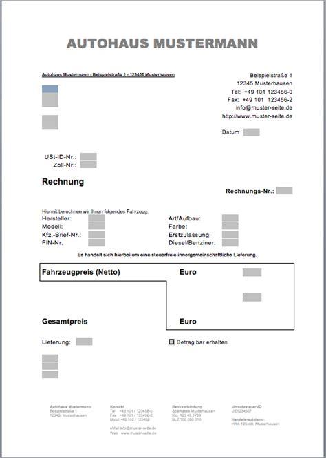 Musterrechnung Ausfuhrlieferung Avp Autofreund24