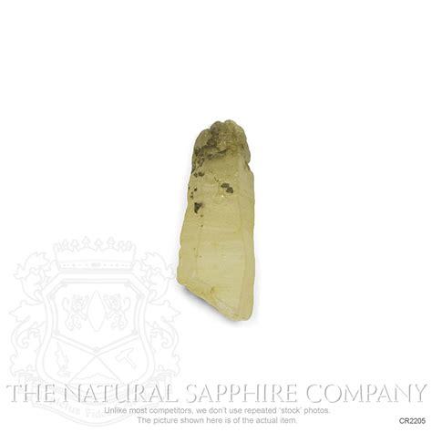 Yellowish Brown yellowish brown sapphire 4 49 ct cr2205