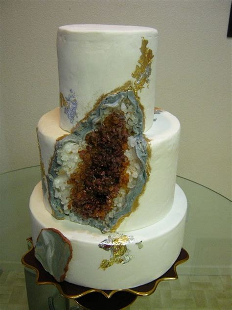 Home Decorating For Dummies by Geode Cake In Amber Cakecentral Com