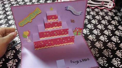 decorar pasteles in ingles tarjeta de cumplea 241 os pastel pop up original youtube