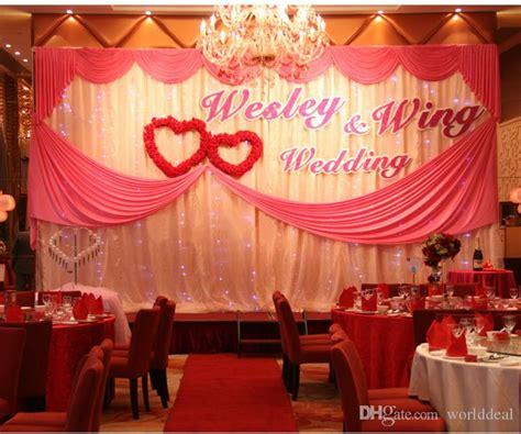 Wedding Name Background by 3 6m Wedding Stage Celebration Background Satin