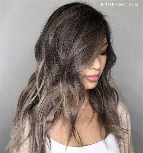 ash color ash brown hair hairstyles magazine