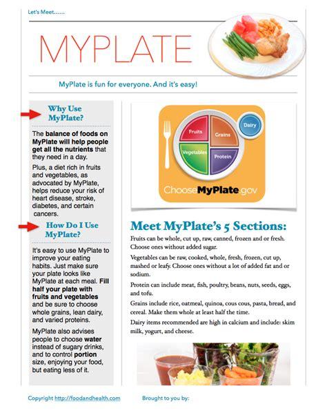 healthy fats handout myplate handout nutritioneducationstore