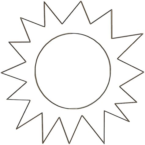 sun template free coloring pages of s is for sun