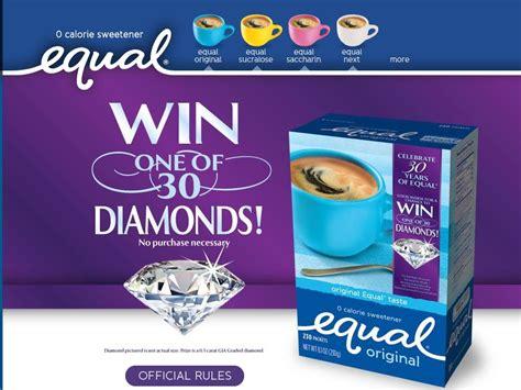 equal diamond giveaway sweepstakes - Equal Diamond Giveaway