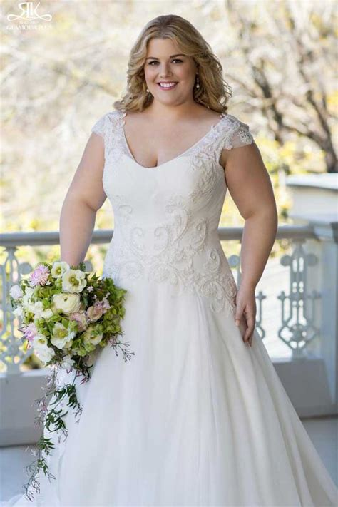 Large Size Wedding Dresses by Plus Size Perfection Wedding Dresses For Those Problem