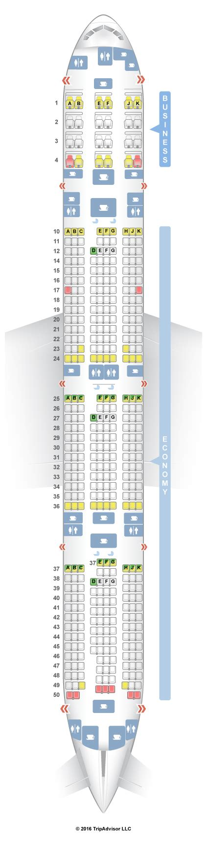 boeing 777 300er seat map air canada 777 300er seat map brokeasshome
