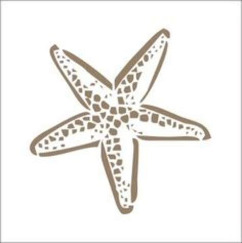 starfish template starfish stencil free images at clker vector clip