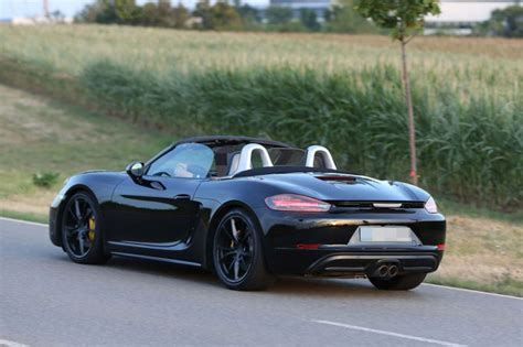 lifted porsche 2016 face lifted porsche boxster spied dpccars