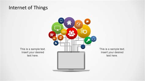 ppt themes internet internet of things powerpoint shapes slidemodel