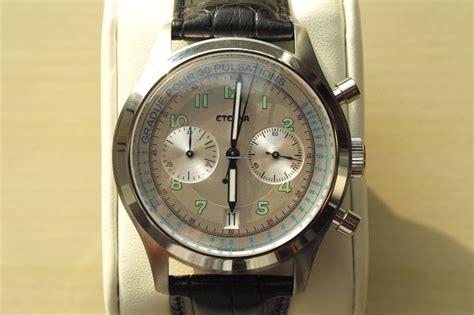 Rolex 2049 P By Lx Collection by Eterna Heritage Pulsometer Chronograph Limited Edition