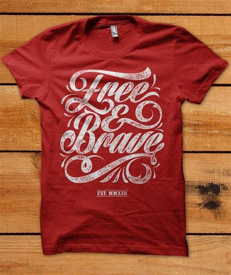 font design shirt typographic t shirt designs using hand lettering from