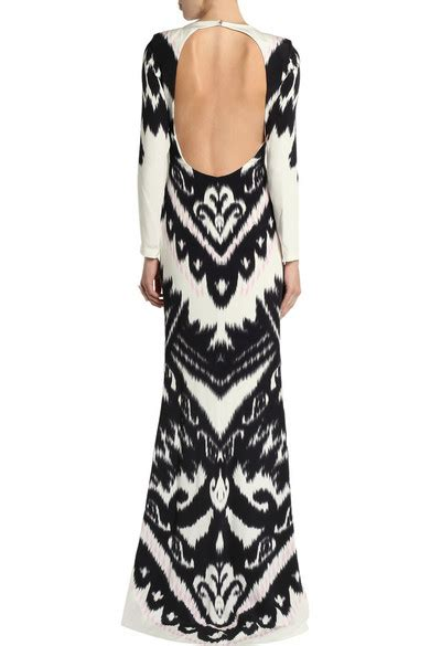 Silk Printed Silk Dress Intl emilio pucci printed silk cady maxi dress net a porter