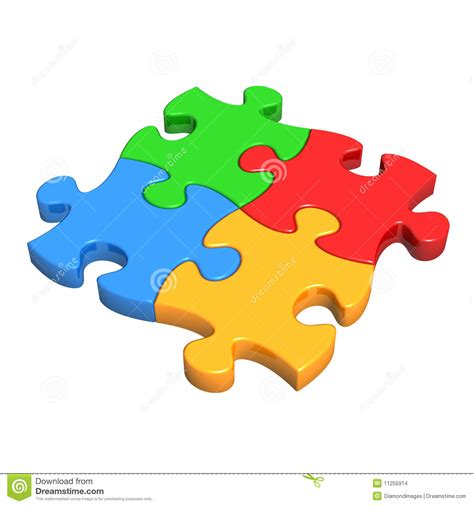 Lego Powerpoint Template colourful puzzle pieces stock images image 11255914