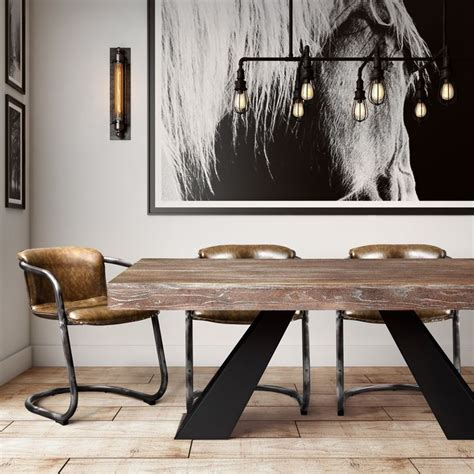 modern wood dining room tables best 25 industrial dining tables ideas on pinterest