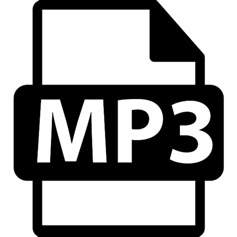 format mp3 mp3 file format symbol free interface icons