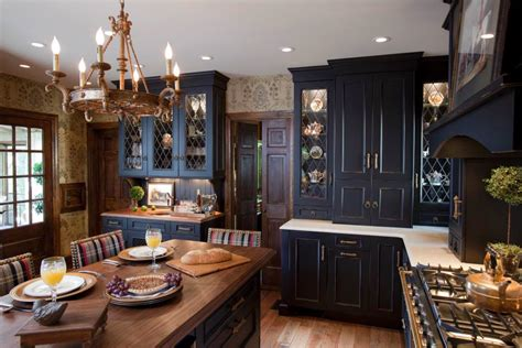 black kitchen cabinets images 24 black kitchen cabinet designs decorating ideas