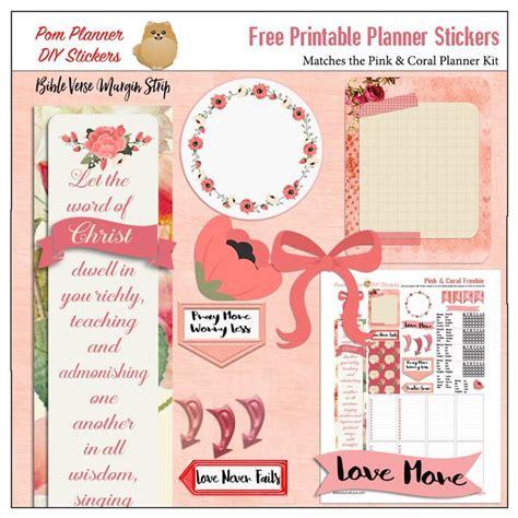 printable bible stickers free printable stickers with a bible verse margin strip