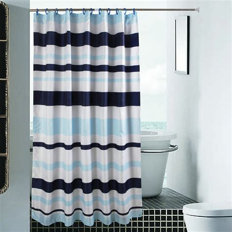 shower curtain bar w180cm h200cm home blue bar shower curtains new arrival