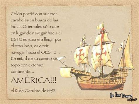 las embarcaciones de cristobal colon resumen las tres carabelas descubrimiento de america colon