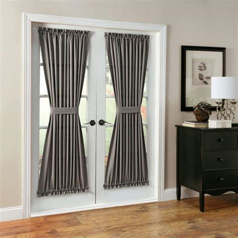 interior door curtains french doors exterior simple yet stunning ideas