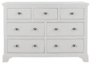downton bedroom furniture chest 4 3 drawers in white