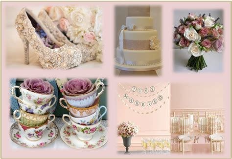 vintage dusky pink wedding colour themes and dusky wedding vintage trends for 2012 part one dotty vintage