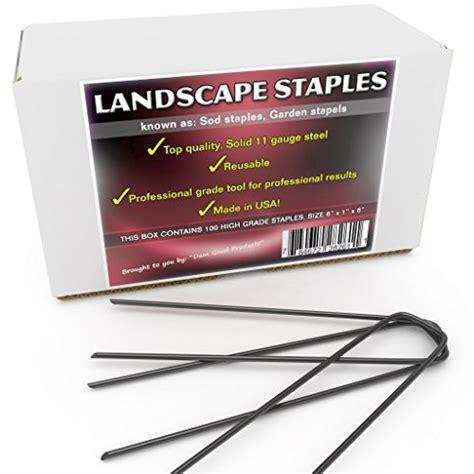 Garden Staples Landscape Fabric Pins by 100 Garden Staples Professional Grade 6 Quot Length