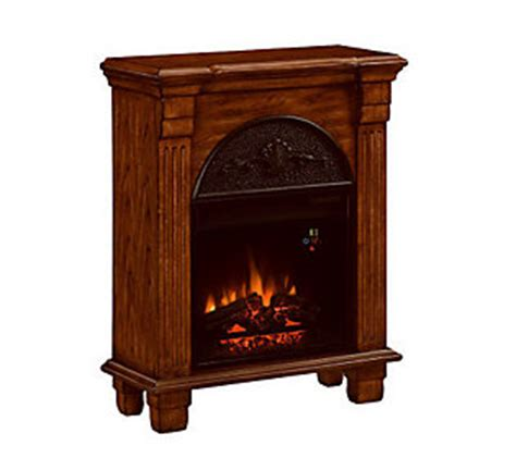 vent free electric fireplace regent vent free electric fireplace side table qvc