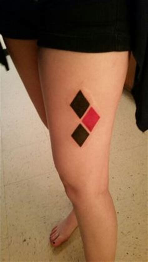 nyc tattoo petition harley quinn tattoos harley quinn watercolor diamonds