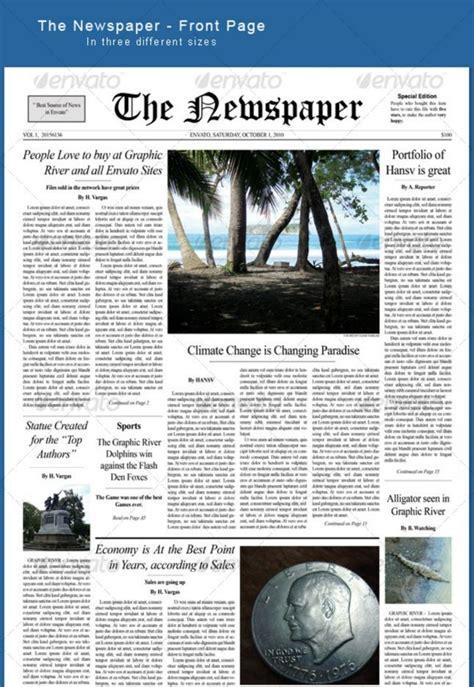 Best Print Newspaper Templates In Adobe Indesign Photoshop Indesign Pinterest Adobe Photoshop Newspaper Template