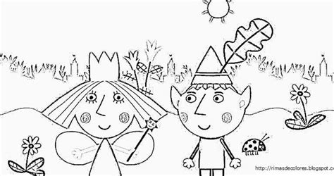 princess holly coloring page ben and holly pictures to print and colour coloring page