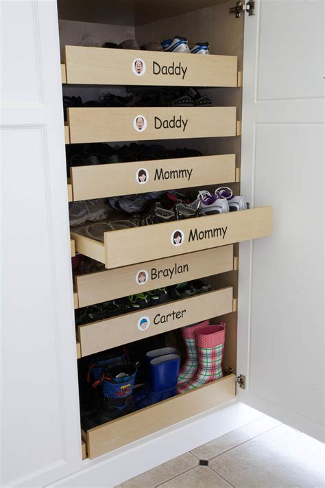 Shoe Storage With Drawers by 15 Storage Ideas For With Way Many Shoes