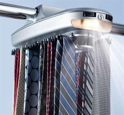 rotating neck tie oragnizers powertie mortorized tie rack
